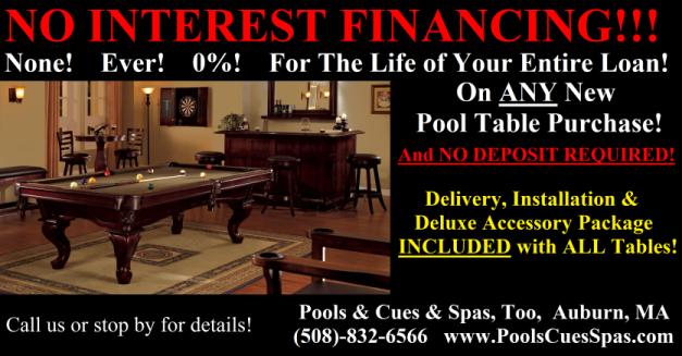 Pool Tables Auburn Hot Tubs And Pools - Westwood pool table